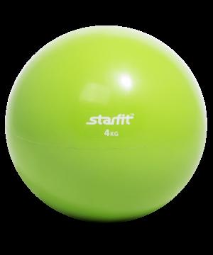Медбол STARFIT GB-703, 4 кг, зеленый