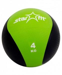 Медбол PRO STARFIT GB-702, 4 кг, зеленый