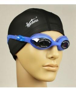 Очки для плавания с anti-fog синие