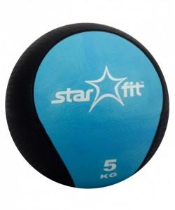 Медбол PRO STARFIT GB-702, 5 кг, синий