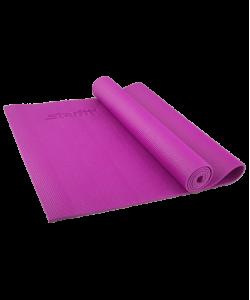 Коврик для йоги STARFIT FM-101, PVC, 173x61x0,6 см, фиолетовый