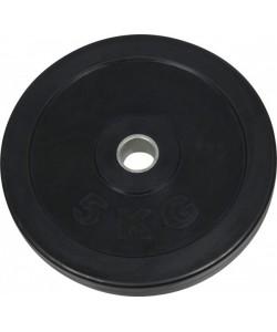 Диск обрезиненный NT121 черный д25,6мм 5кг