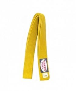 Пояс для единоборств KBO-1014, желтый