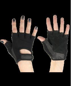 Перчатки для фитнеса STARFIT SU-114, черные