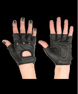 Перчатки для фитнеса STARFIT SU-115, черные