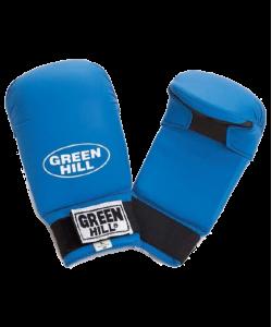 Накладки на кисть GREEN HILL Cobra KMС-6083, к/з, синие