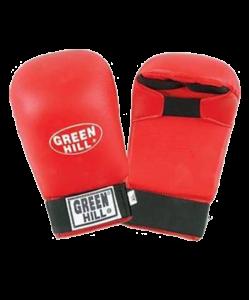 Накладки на кисть GREEN HILL Cobra KMС-6083, к/з, красные