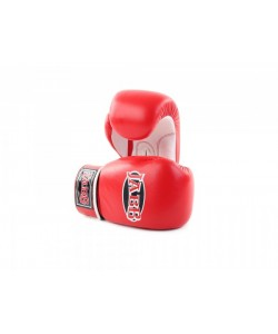 Перчатки бокс.(нат.кожа) Jabb JE-2014 красный/белый 10ун.