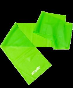 Эспандер ленточный для йоги ES-201 1200х150х0,35 мм, зеленый