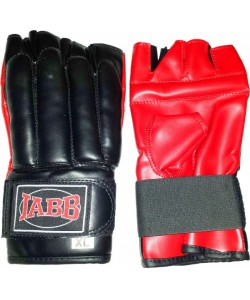 Шингарты (иск.кожа) Jabb JE-1401P черный/красный