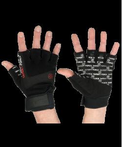 Перчатки для фитнеса STARFIT SU-118, черные