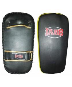 Макивара Jabb (иск.кожа) JE-2235 черный/желтый N/S