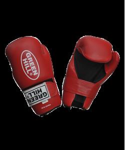 Перчатки для смешанных единоборств GREEN HILL 7-contact SCG-2048c/а, к/з, красные