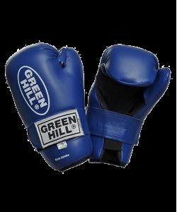 Перчатки для смешанных единоборств GREEN HILL 7-contact SCG-2048c/а, к/з, синие