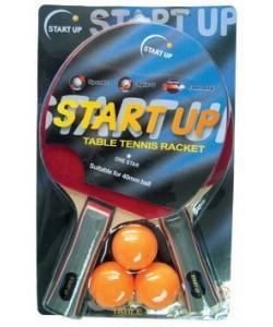 набор для н/т (2 ракетки, 3 шар.) START UP 1 Star BR-06/1 star (8039)