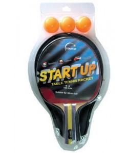 набор для н/т (ракетка, чехол, 3 шар.) START UP 2 Star BR-12/2 star (8046)