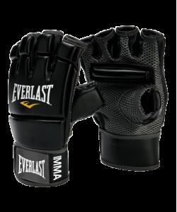 Перчатки для смешанных единоборств EVERLAST Kickboxing 4402B, к/з, черные