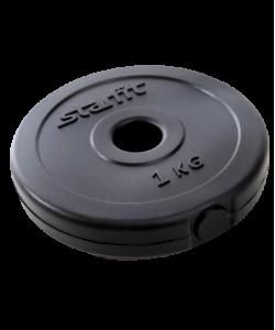 Диск пластиковый BB-203, d=26 мм, черный, 1 кг