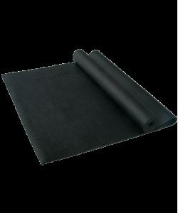 Коврик для йоги STARFIT FM-101, PVC, 173x61x0,3 см, черный