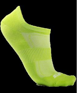 Носки низкие STARFIT SW-201, 2 пары, р.35-38, ярко-зеленые