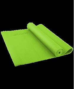 Коврик для йоги STARFIT FM-101, PVC, 173x61x0,4 см, зеленый