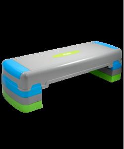 Степ-платформа STARFIT SP-203, трехуровневая, 90,5х32,5х25 см
