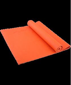 Коврик для йоги STARFIT FM-101, PVC, 173x61x0,4 см, оранжевый