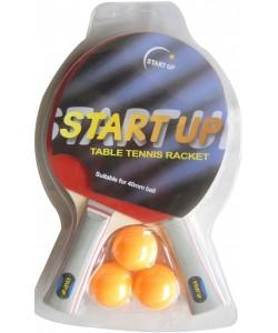 набор для н/т (2 ракетки, 3 шар.) START UP BR-17 0 star (4349)