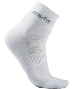 Носки средние STARFIT SW-202, 2 пары, р.43-46, белые