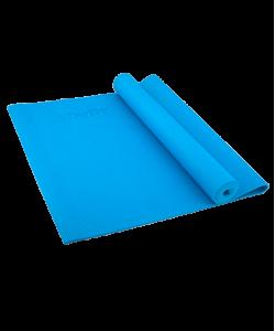 Коврик для йоги STRAFIT FM-101, PVC, 173x61x0,4 см, синий