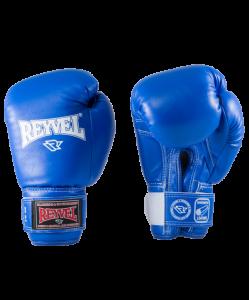 Перчатки боксерские RV-101, 10oz, к/з, синие