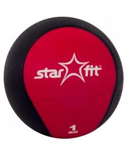 Медбол PRO STARFIT GB-702, 1 кг, красный