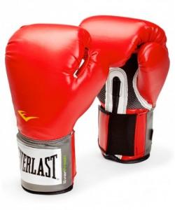 Перчатки боксерские EVERLAST Pro Style Anti-MB 2112U, 12oz, к/з, красные