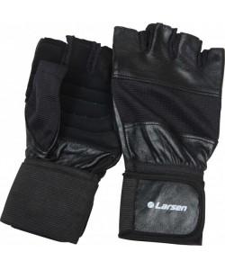 Перчатки тяжелоатлет. суппорт Larsen NT502