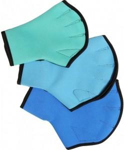 Акваперчатки открытые пальцы, застежка «липучка»