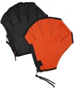 Акваперчатки открытые пальцы, застежка «молния» и «липучка»