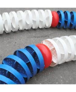 Дорожка разделительная волногасящая Ø 110 мм на нерж. тросе