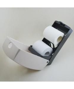 Диспенсер для туалетной бумаги в пачках и рулонах