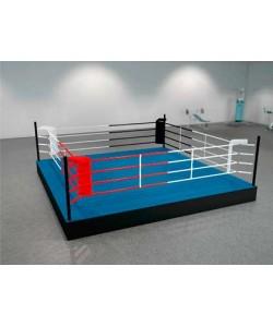 Боксерский ринг на помосте болтовой