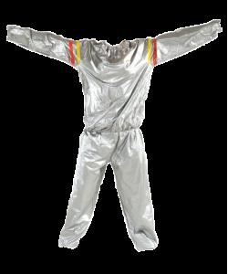Костюм-сауна STARFIT SW-101, серый