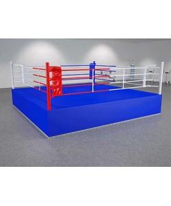 Ринг боксерский на помосте, безболтовой, балочный
