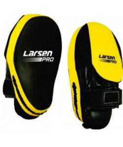 Макивара Larsen Pro JE-2235 (иск.кожа) черный/желтый N/S(965)