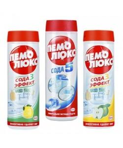 Пемолюкс. Чистящий порошок для очистки трудно загрязненных поверхностей, 400 гр