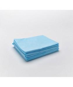 Простынь СМС 160 * 200 25 гр/м2 Синяя в уп 10 шт