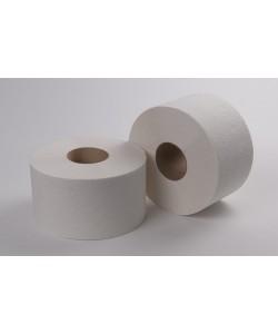 Туалетная бумага белая РНБ 1сл, 190м 12/1 РНБ